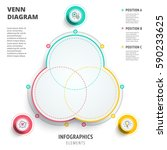 venn diagram circles... | Shutterstock .eps vector #590233625