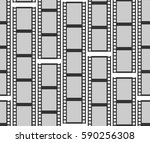 seamless pattern with... | Shutterstock . vector #590256308