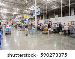 burbank  ca  usa  july 27  2016 ... | Shutterstock . vector #590273375