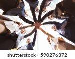 business people teamwork... | Shutterstock . vector #590276372