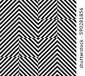 vector seamless pattern.... | Shutterstock .eps vector #590281856