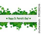 saint patrick's day vector... | Shutterstock .eps vector #590288246