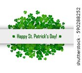 saint patrick's day vector... | Shutterstock .eps vector #590288252