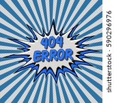 error 404 page not found pop... | Shutterstock .eps vector #590296976