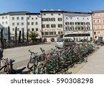 salzburg  austria   april 29 ... | Shutterstock . vector #590308298