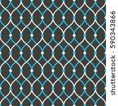 seamless black blue and white...   Shutterstock .eps vector #590343866