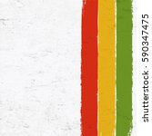 rasta colors grunge background. ... | Shutterstock .eps vector #590347475