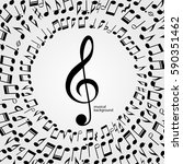 vector music  background ...   Shutterstock .eps vector #590351462