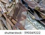 close up of builders rubble... | Shutterstock . vector #590369222
