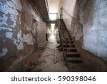 staircase leading to more... | Shutterstock . vector #590398046