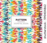 geometric pattern design | Shutterstock .eps vector #590404862