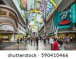 las vegas  usa   june 16  2012  ... | Shutterstock . vector #590410466