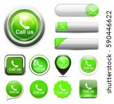 call us icon   Shutterstock .eps vector #590446622