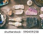Natural Gemstones  White Sage...