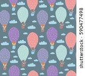 cartoon children illustration   ... | Shutterstock .eps vector #590477498