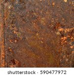background texture of rusted... | Shutterstock . vector #590477972