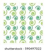 seamless print   spiral pattern | Shutterstock .eps vector #590497022