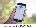 chiang mai thailand   march 1 ... | Shutterstock . vector #590527436