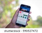 chiang mai thailand   march 1 ... | Shutterstock . vector #590527472