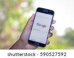 chiang mai thailand   march 1 ...   Shutterstock . vector #590527592