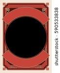 vintage frame and border... | Shutterstock .eps vector #590533838