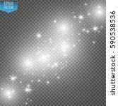 lights on transparent... | Shutterstock .eps vector #590538536