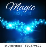 magic dust. infinity. abstract... | Shutterstock .eps vector #590579672