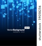 abstract explore square mosaic... | Shutterstock .eps vector #59058256