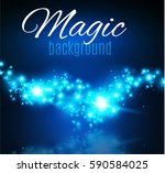 magic dust. infinity. abstract... | Shutterstock .eps vector #590584025