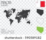 illustrated country shape with... | Shutterstock .eps vector #590589182