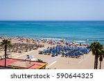 Panoramic View Of Sand Beach I...