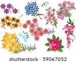 illustration with bright color... | Shutterstock .eps vector #59067052