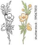 wildflower   click on my... | Shutterstock .eps vector #59067853