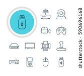 vector illustration of 12... | Shutterstock .eps vector #590696168