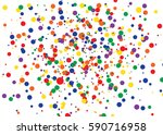 Dot Color Background. Vector...
