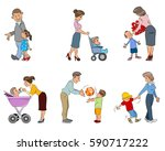 vector illustration of a... | Shutterstock .eps vector #590717222