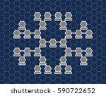 stellar family tree. the... | Shutterstock .eps vector #590722652