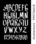 graphic font for your design.... | Shutterstock .eps vector #590726618