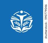 education logo. | Shutterstock .eps vector #590779046