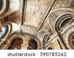 Art And Ceilings Inside...
