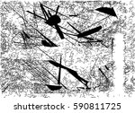 background black and white... | Shutterstock .eps vector #590811725