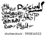 modern graffiti tags on a white ...