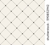 vector seamless pattern. modern ... | Shutterstock .eps vector #590852942