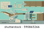 dentist office illustrations | Shutterstock . vector #590865266