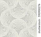 abstract irregular dotted... | Shutterstock .eps vector #590900276