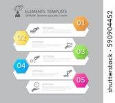modern infographics business... | Shutterstock .eps vector #590904452