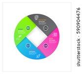 modern infographics business...   Shutterstock .eps vector #590904476