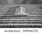 isolated modern window design.... | Shutterstock . vector #590946755