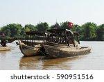beautiful laos | Shutterstock . vector #590951516