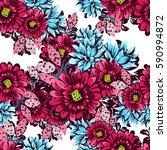 abstract elegance seamless... | Shutterstock . vector #590994872